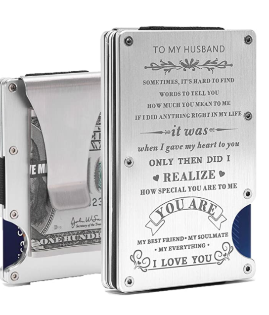 anniversary-gifts-for-him-money-clip-wallet