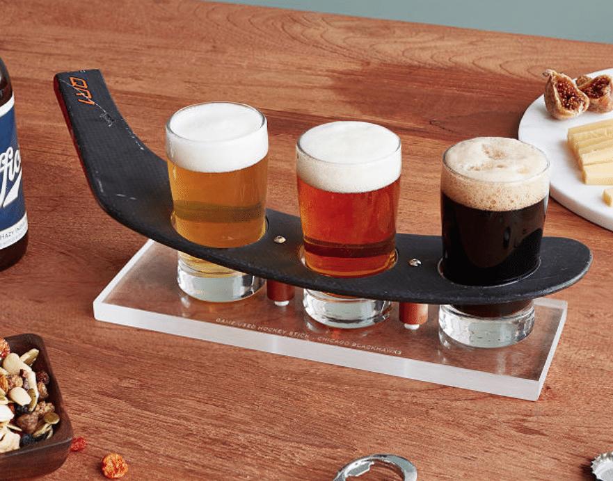 hockey-gifts-stick-beer-flight