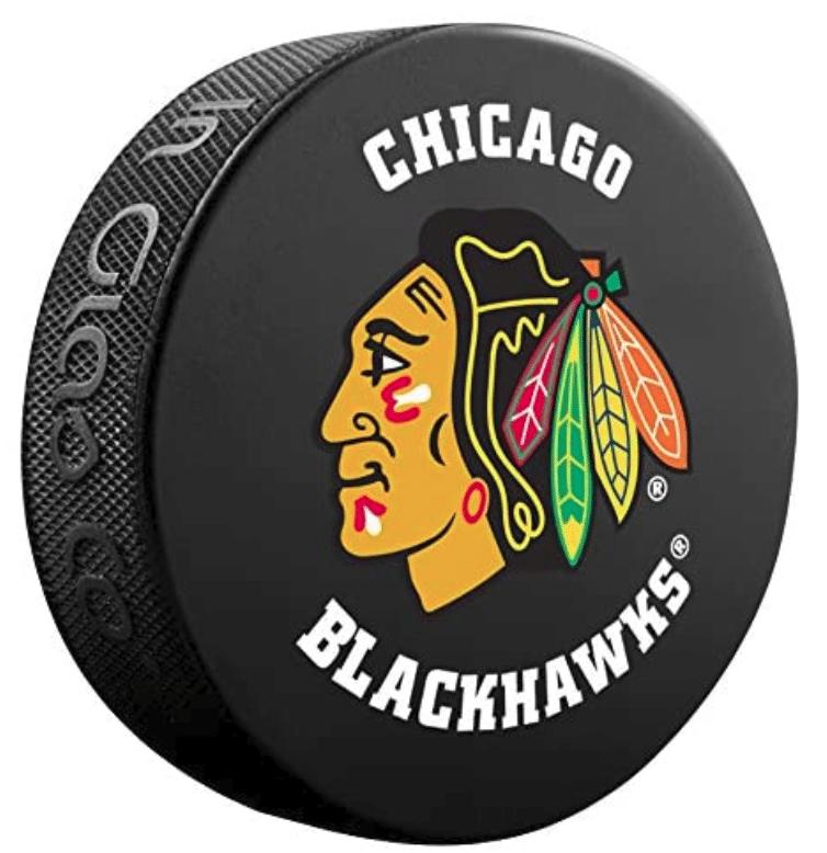 hockey-gifts-blackhawks-nhl-hockey-puck