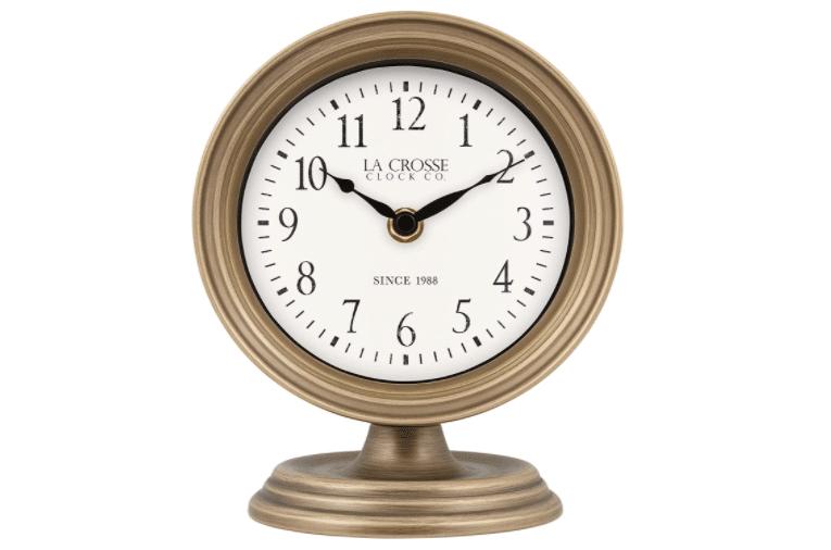 bronze-anniversary-gifts-clock
