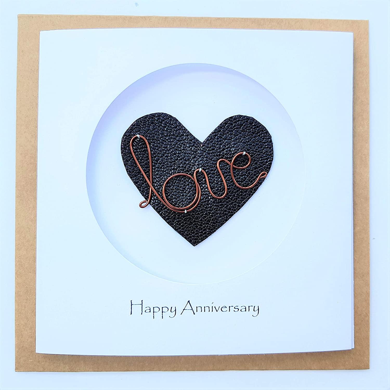 bronze-anniversary-gifts-card