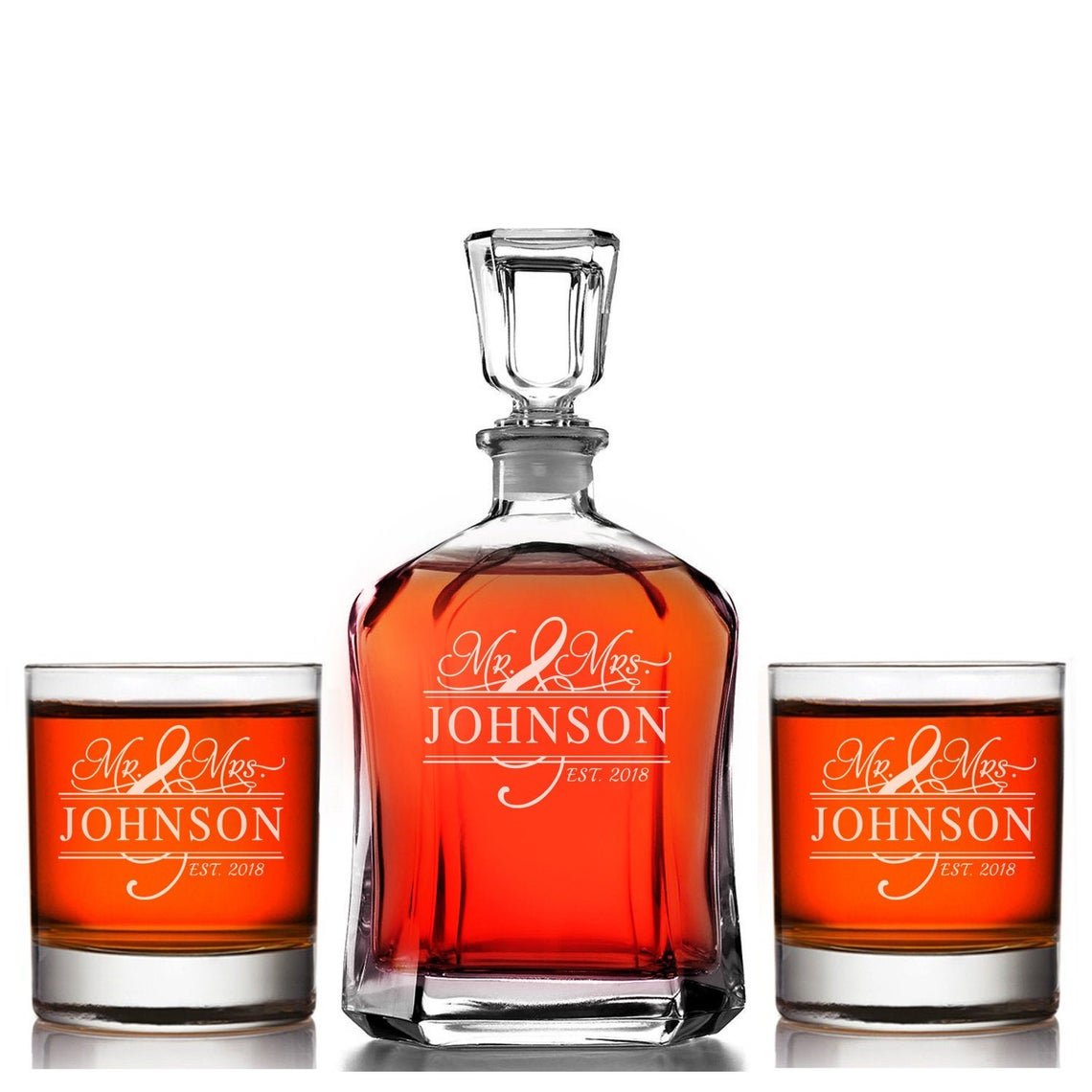 gifts-for-newlyweds-whiskey-set