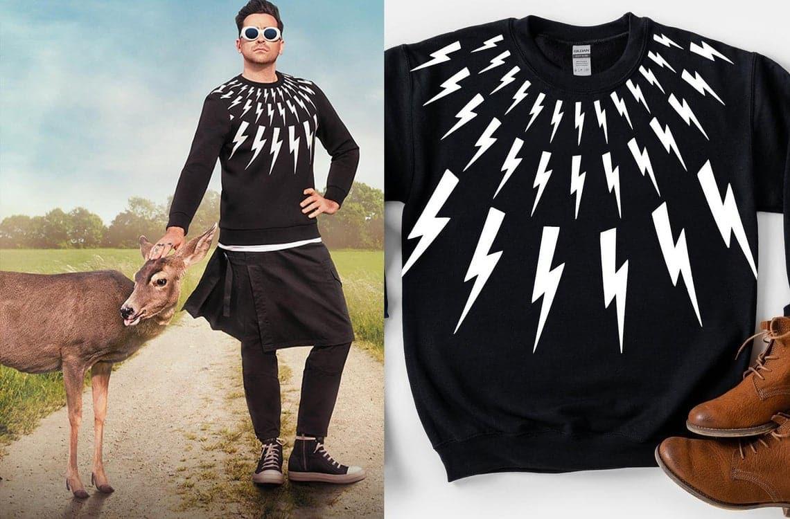 schitts-creek-gifts-lightning-sweater