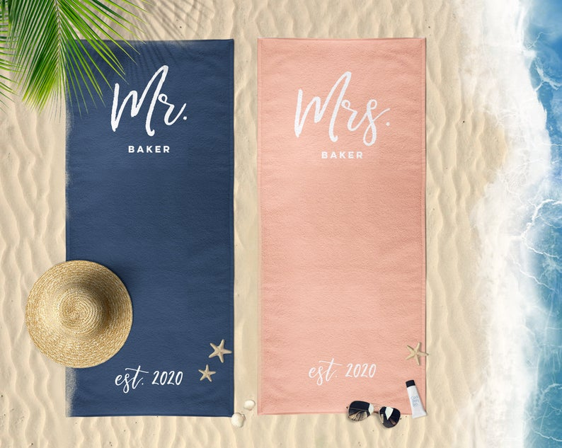 his-and-hers-gifts-beach-towels
