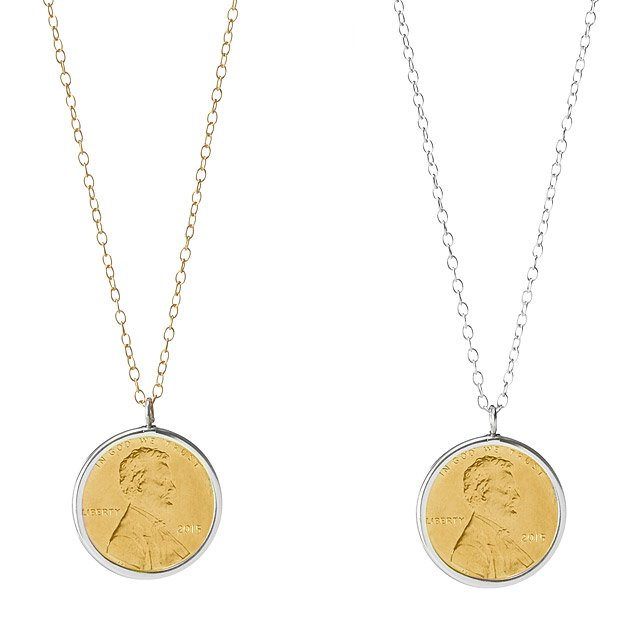 gifts-for-7th-anniversary-penny-necklace