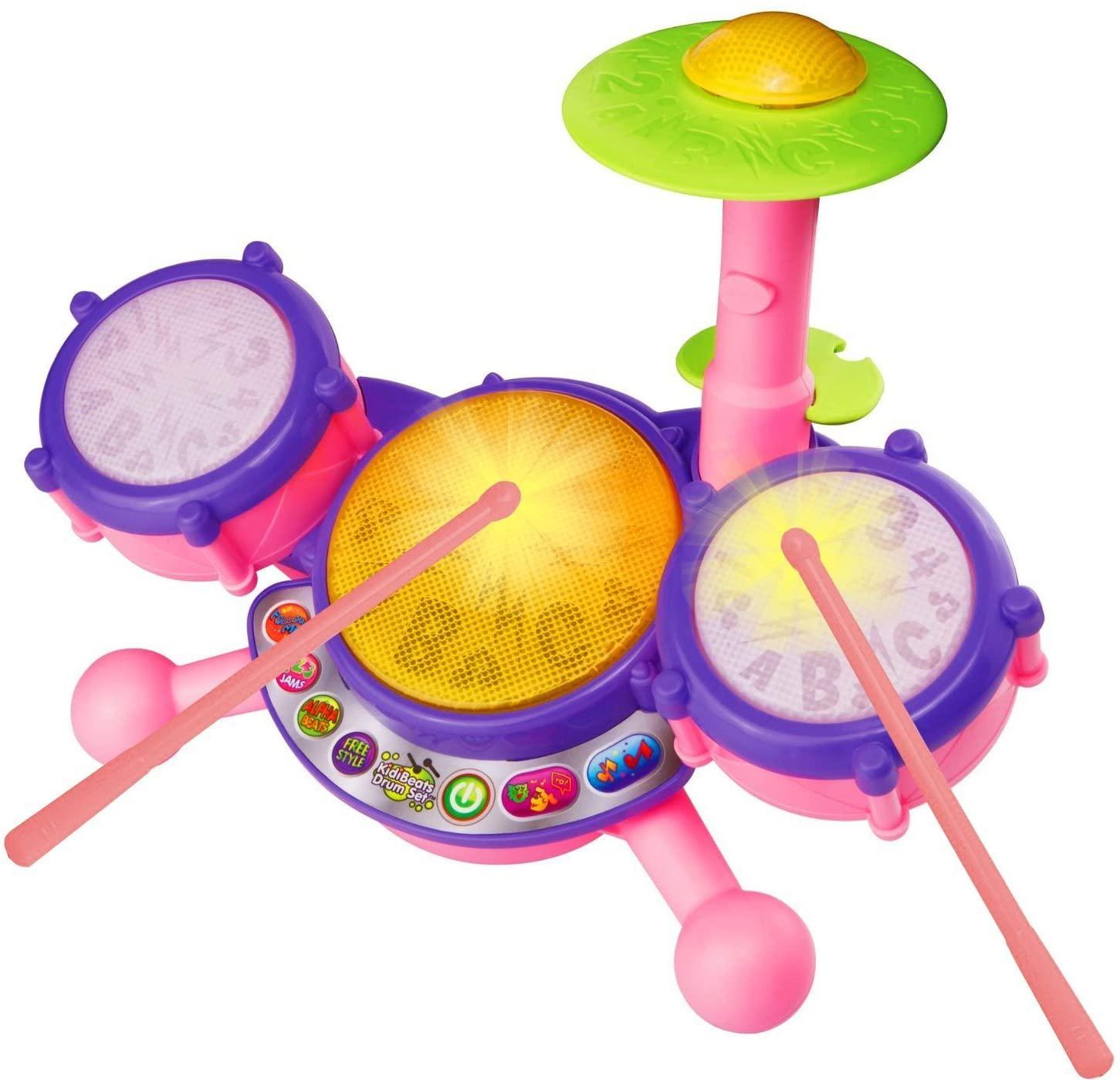 2-year-old-girls-drum-set