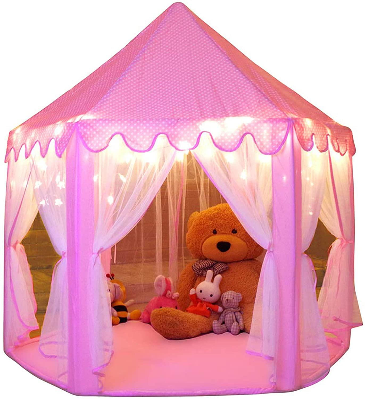 2-year-old-girls-princess-tent