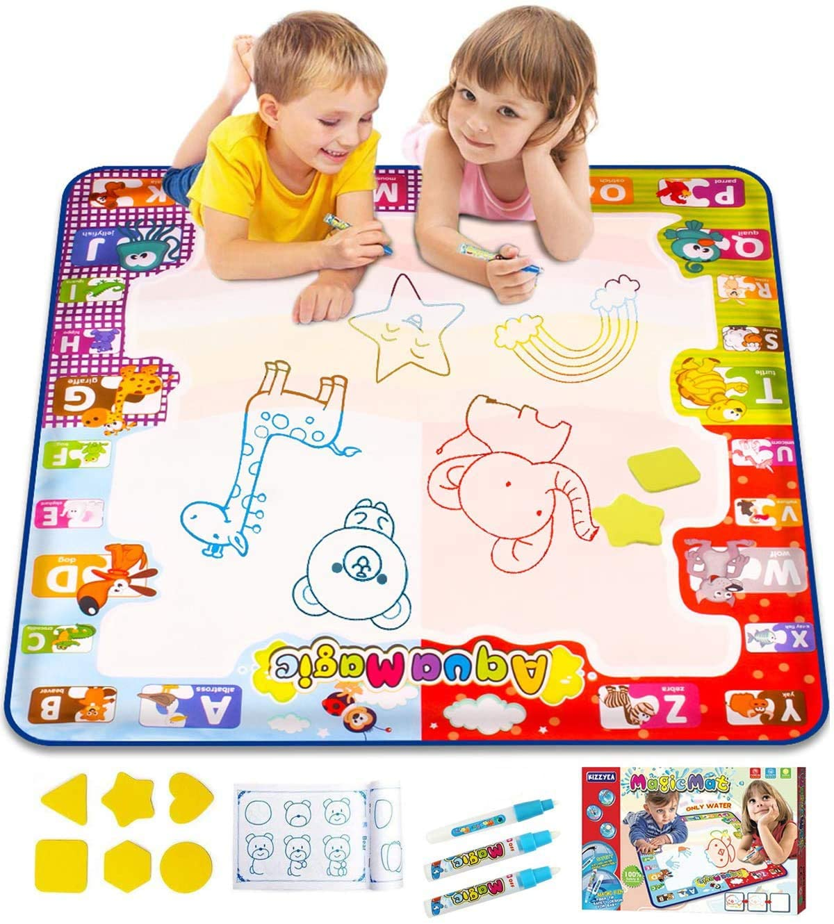 2-year-old-girls-water-doodle-mat