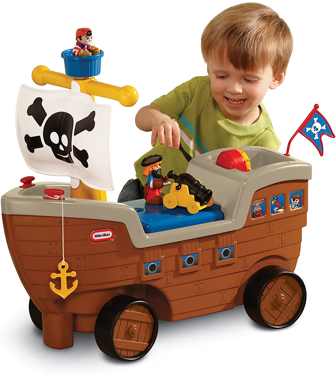 best-baby-boy-gifts-for-baby-boys-ages-0-2-pirate-ship-car-and-toy