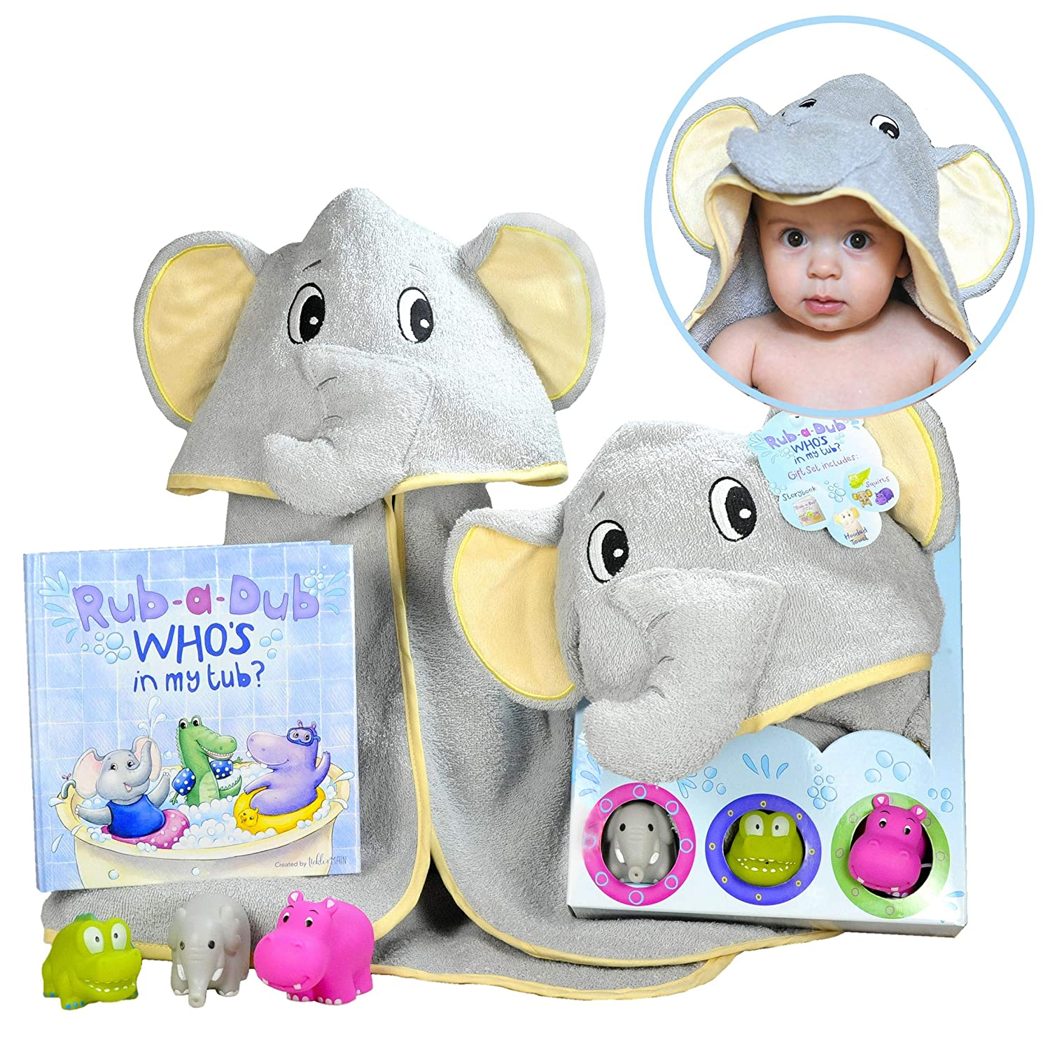 best-baby-boy-gifts-for-baby-boys-ages-0-2-hooded-towel-set