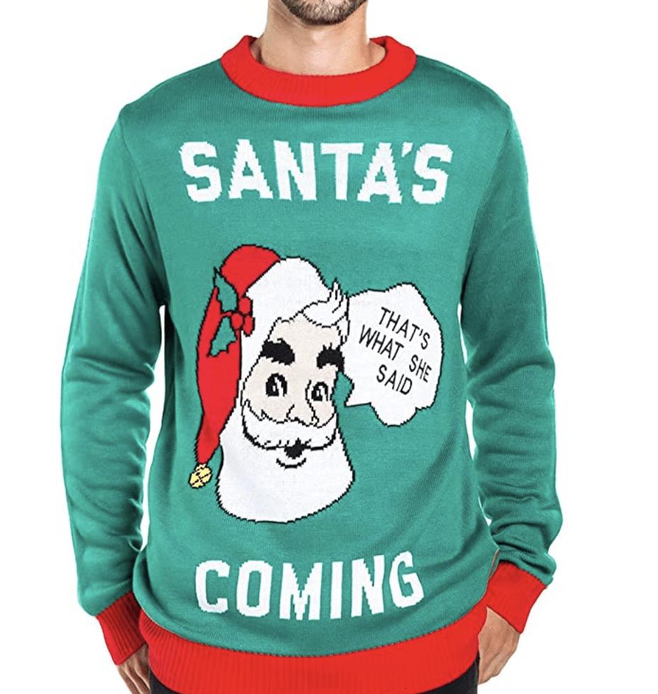 funny-christmas-sweaters-santa-coming