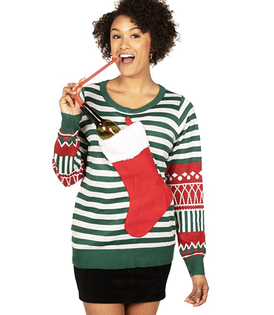funny-christmas-sweaters-wine-holder