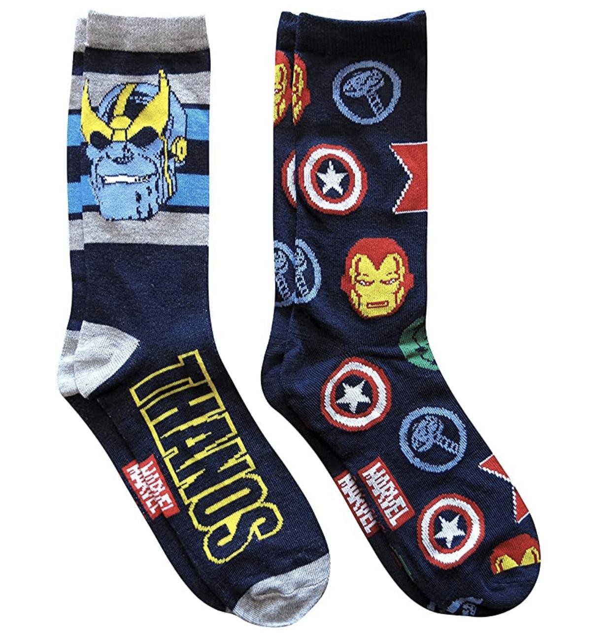 stocking-stuffer-ideas-for-kids-marvel-socks