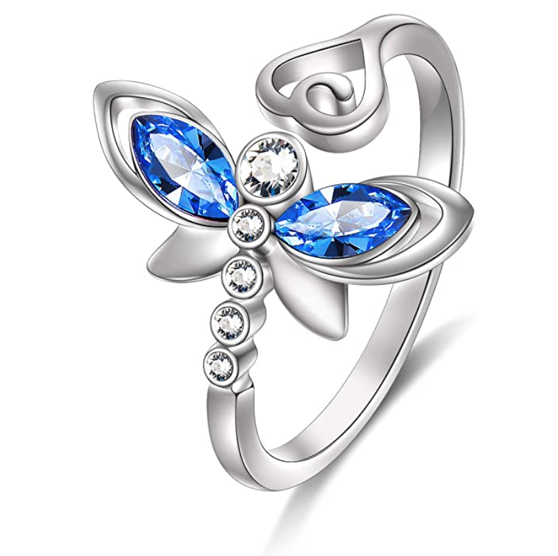dragonfly-gifts-adjustable-ring
