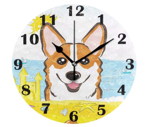 corgi-gifts-clock