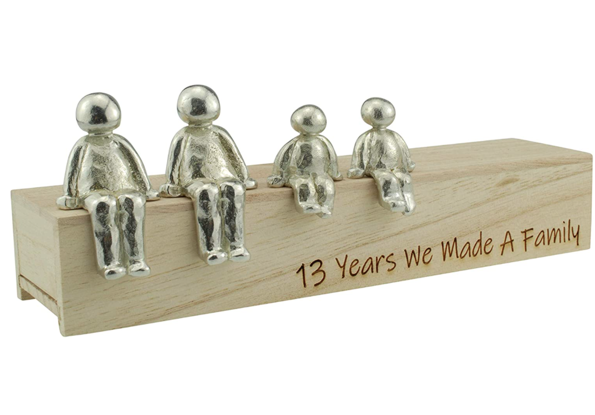 13th-anniversary-gifts-family-sculpture