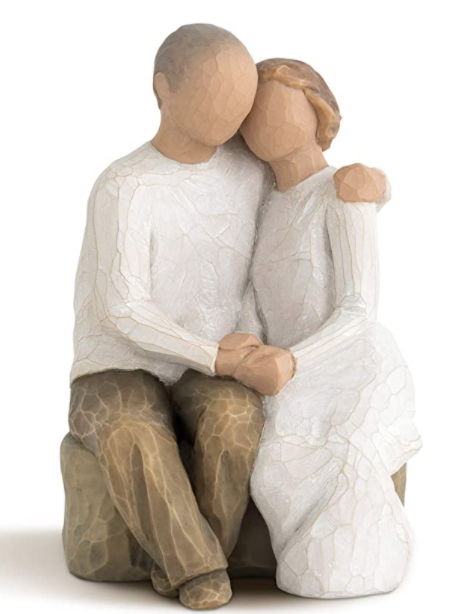 13th-anniversary-gifts-willow-tree-couple
