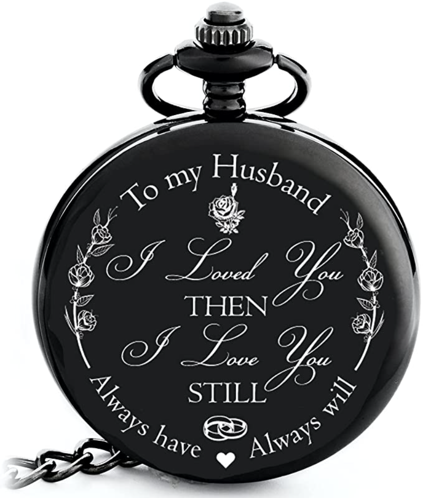 13th-anniversary-gifts-pocket-watch