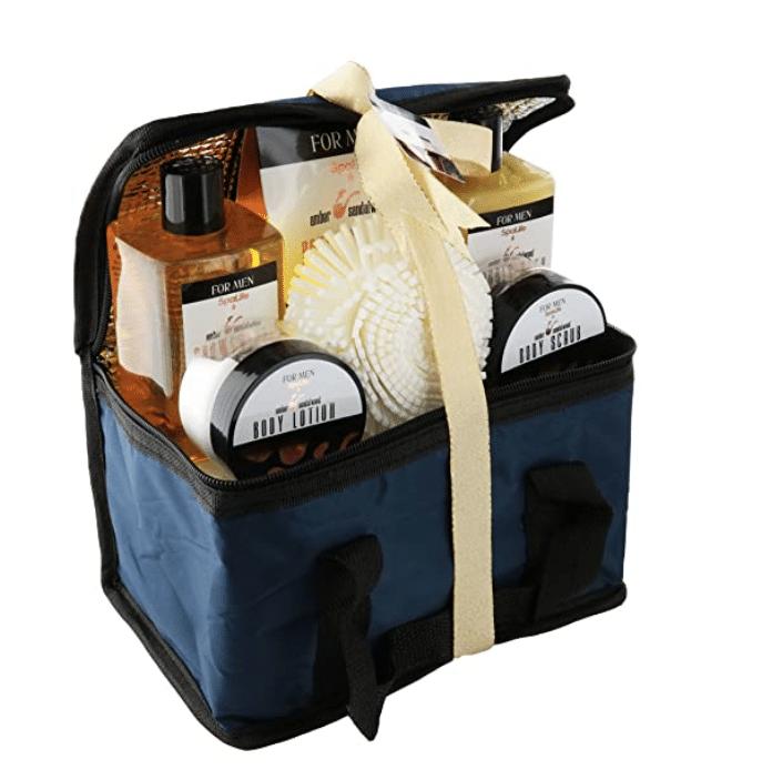 self-care-gift-basket-sandalwood-bath-set