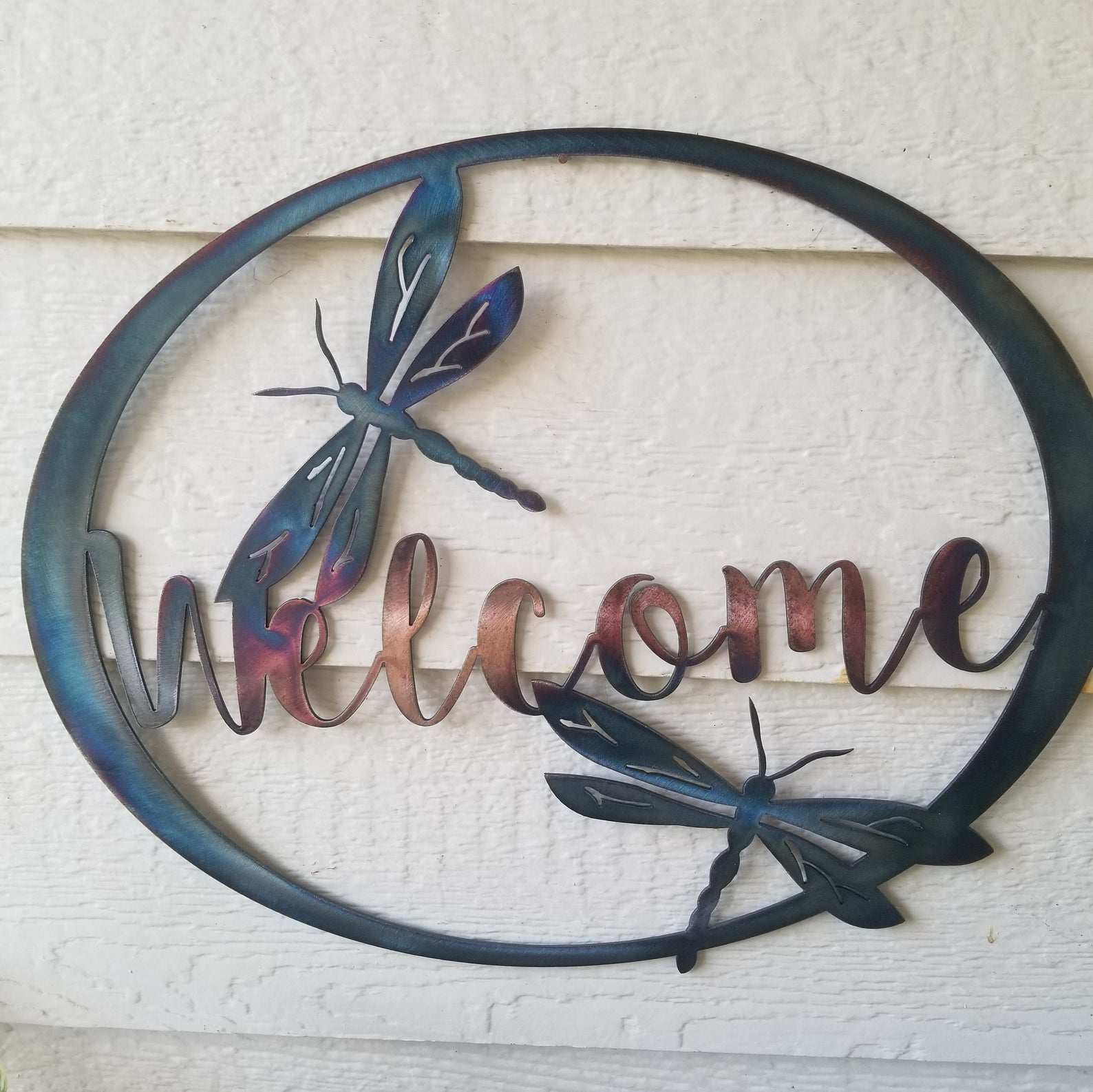dragonfly-gifts-metal-welcome-sign