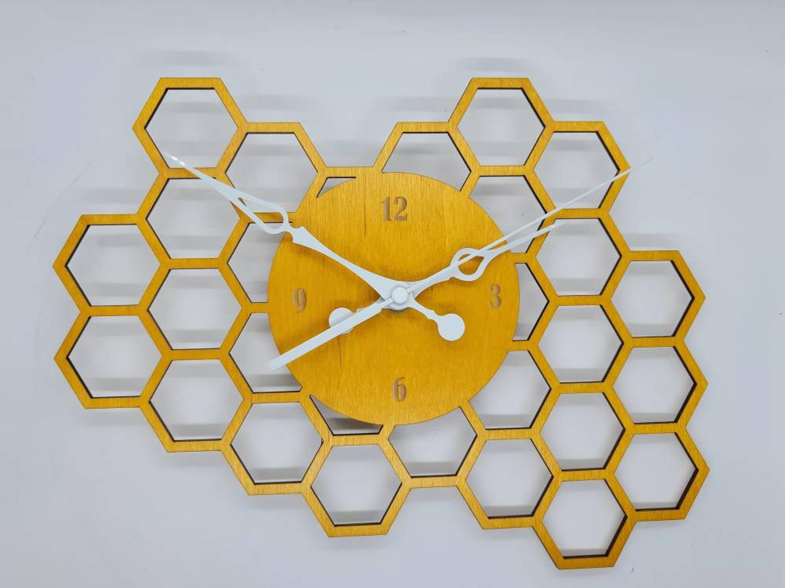 bee-lover-gifts-honeycomb-clock