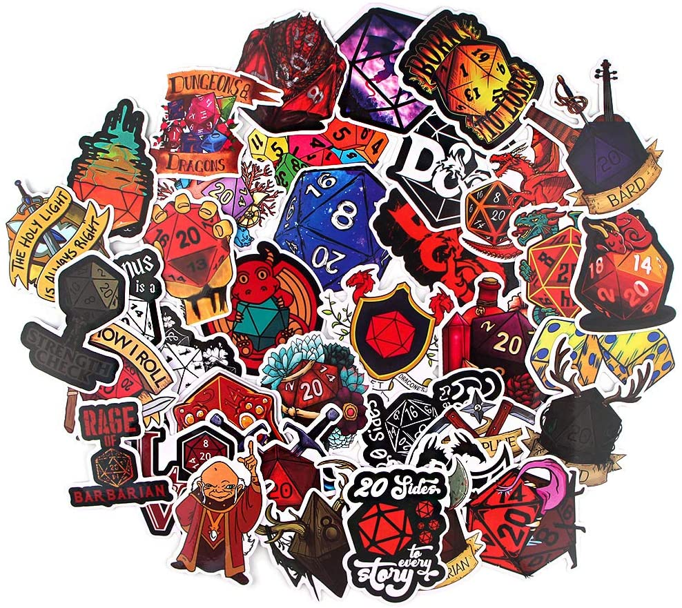 dungeon-and-dragons-gifts-stickers