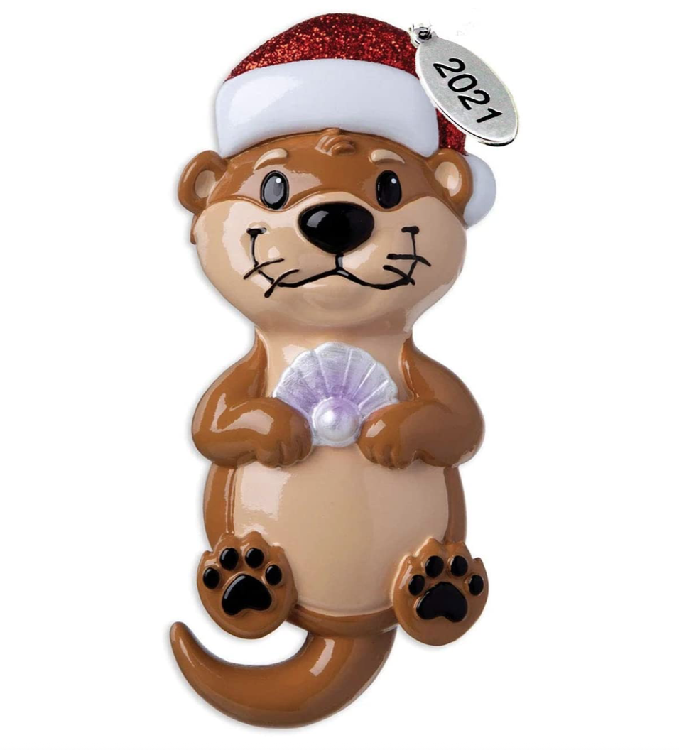 otter-gifts-christmas-ornament