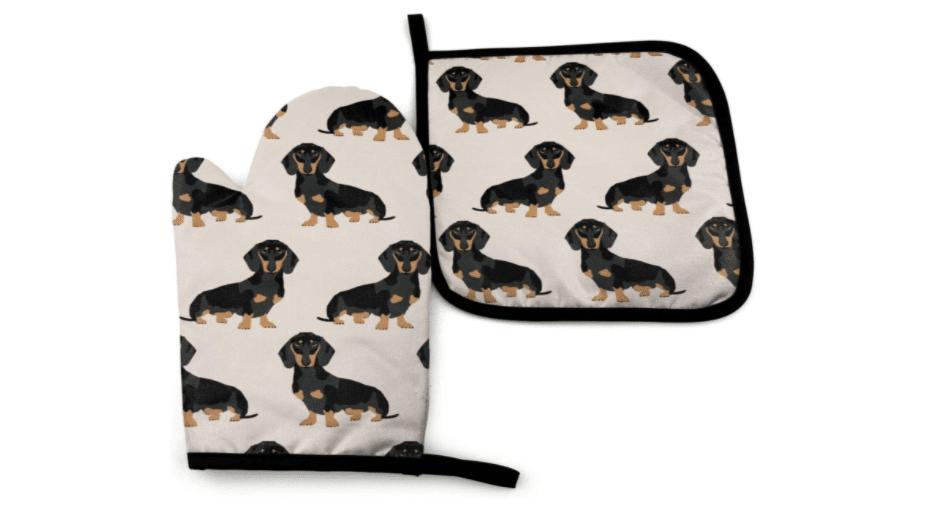 dachshund-gifts-oven-mitt