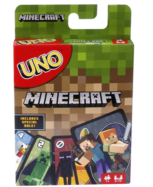 Minecraft-gifts-uno