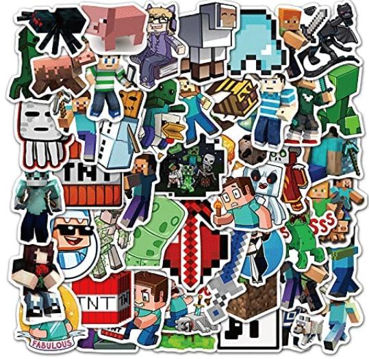 Minecraft-gifts-stickers